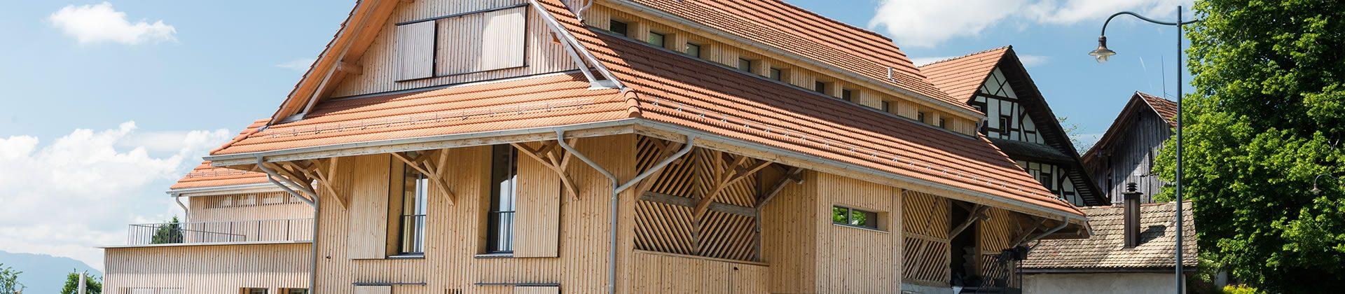 Zimmerrei / Holzbau