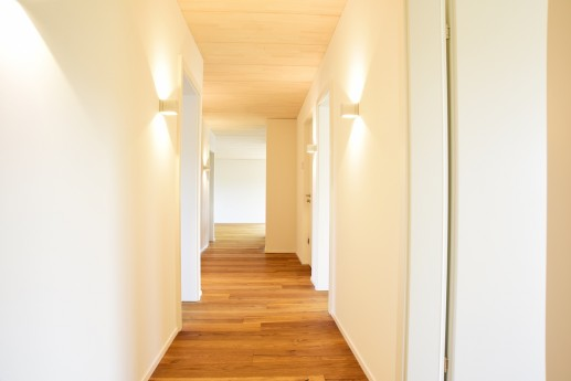 Korridor mit Beleuchtung