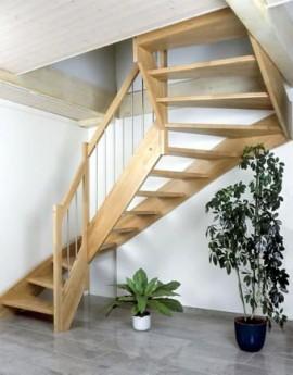 Treppe 2 x 1/4-gewunden
